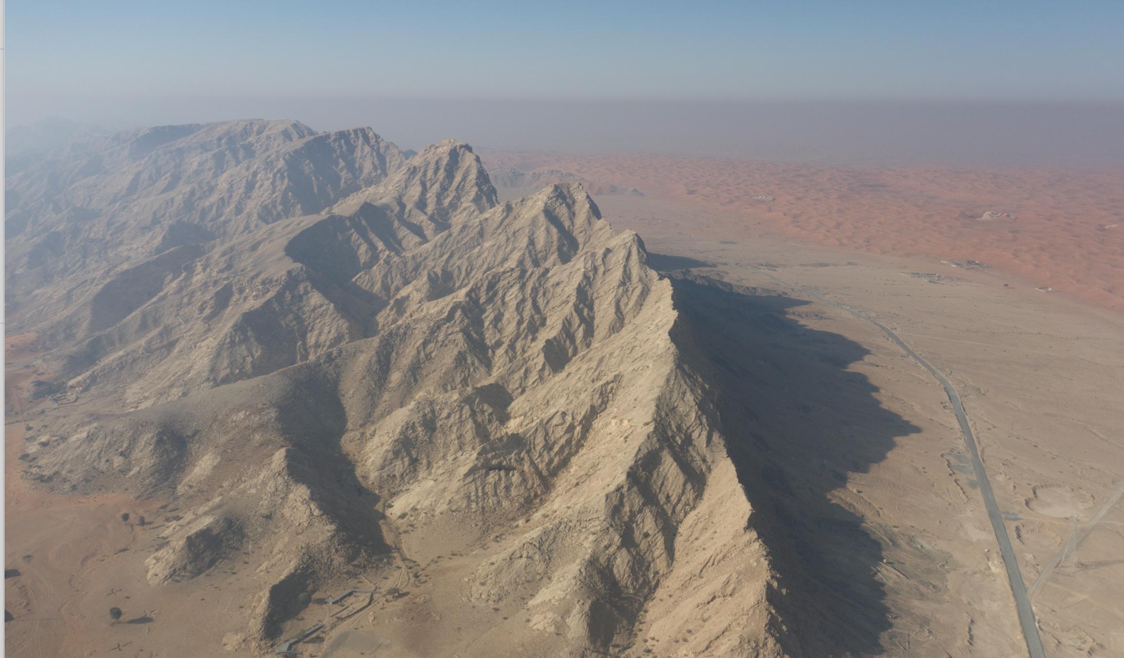 Mleiha Jebel Buhais Trek Launch